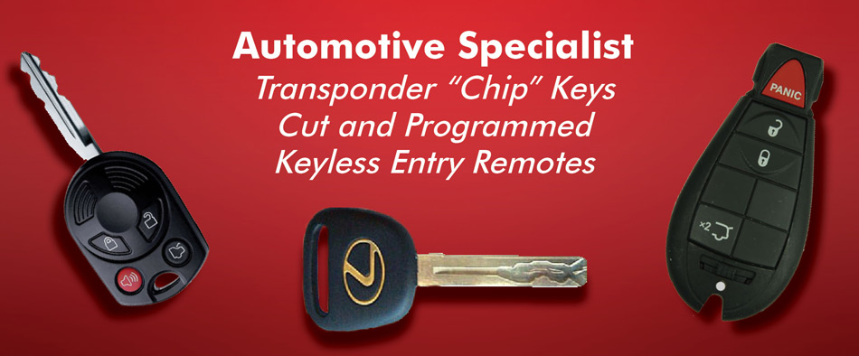 Auto KEY replacement NYC